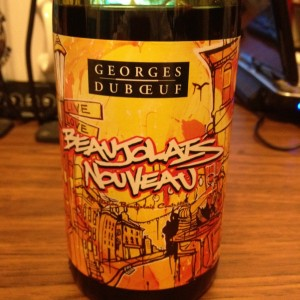 Beaujolais Nouveau 2001 from Georges Duboeuf