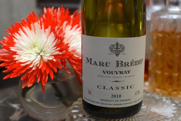 Marc Bredif 2010 Vouvray sec white wine