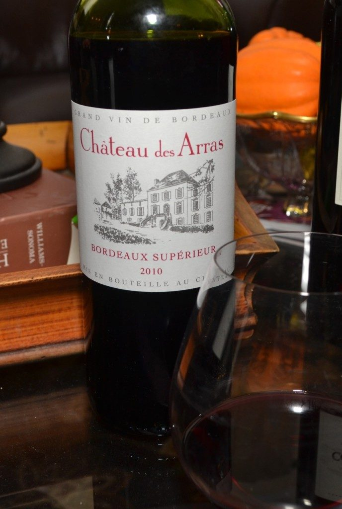 Chateau des Arras Bordeaux Superieur 2010