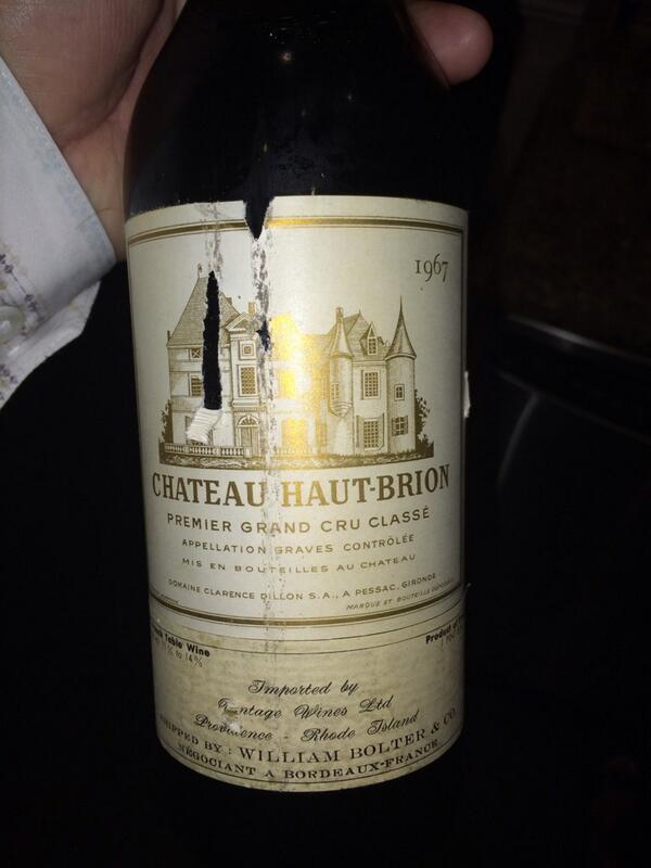 Chateau Haut-Brion 1967