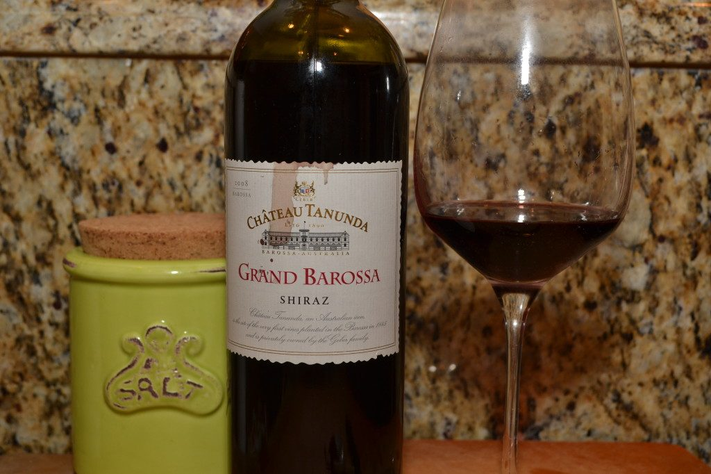 Chateau Tanunda Grand Barossa 2008 Shiraz