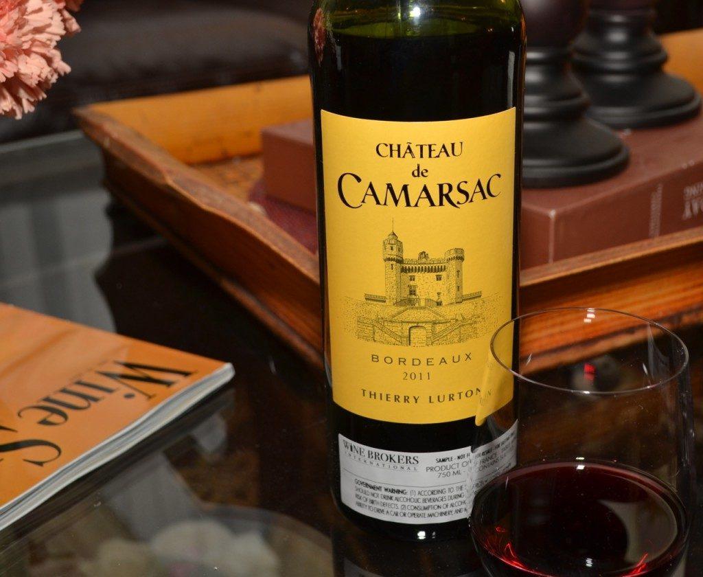 Chateaux de Camarsac Bordeaux 2011