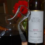 Decanting the Barolo