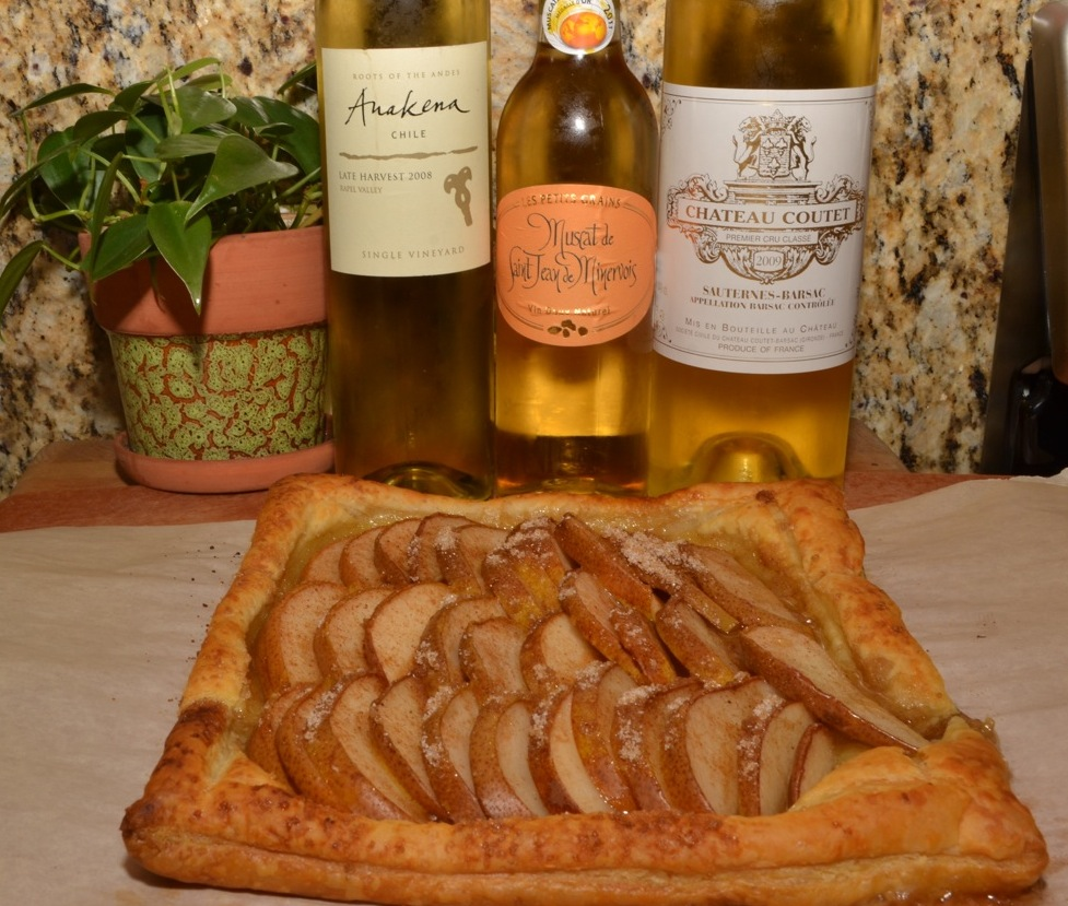 Dessert Wine Perfect for a Pear Tart!