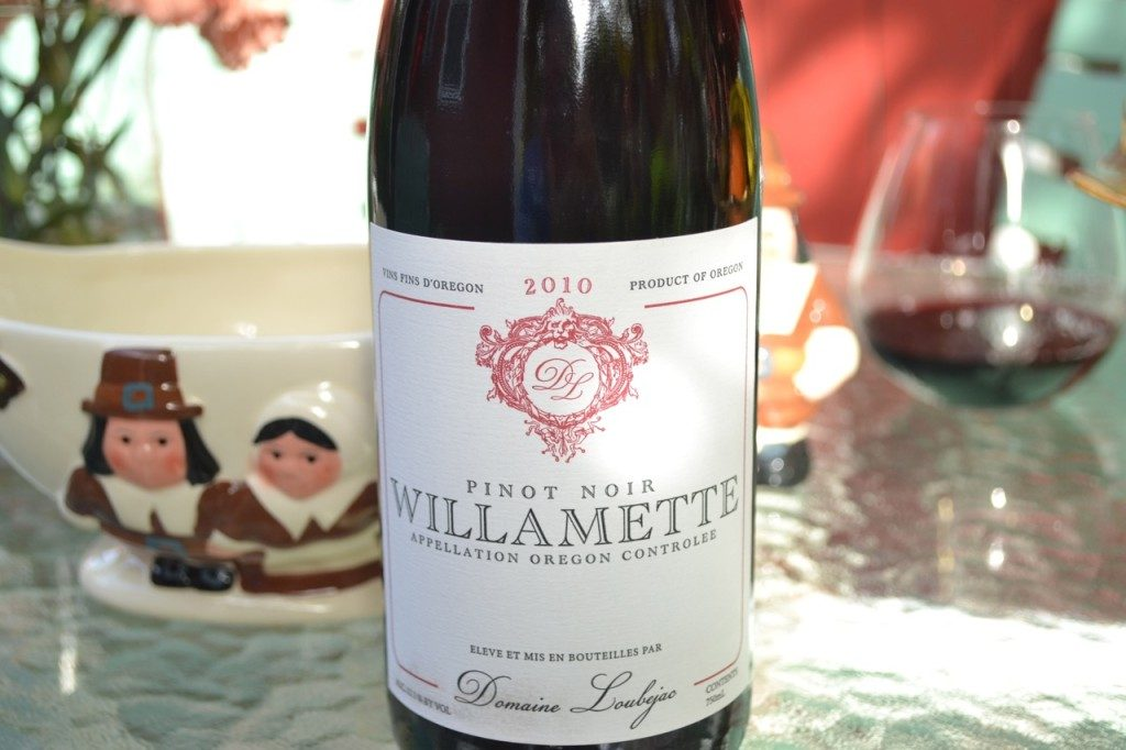 Domaine Loubejac Willamette 2010 thanksgiving wine