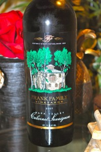 Frank Family Vineyards Cabernet Sauvignon 2007