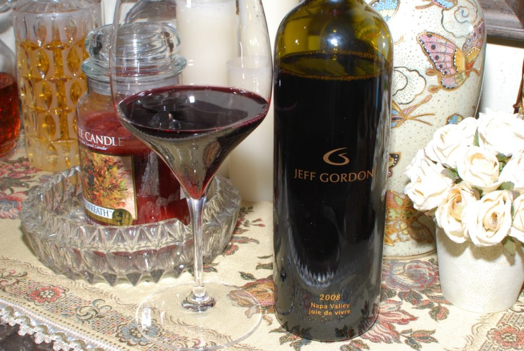 Jeff Gordon's Joie de Vivre Red Wine