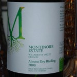 Montinore Estate 2008 Almost Dry Riesling
