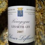 Oliver Leflaive Bourgogne Blanc Les Setilles