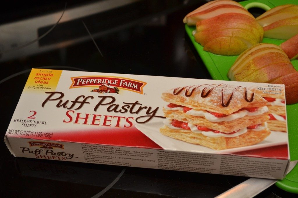 Pepperidge Farm frozen puff pasty was perfect