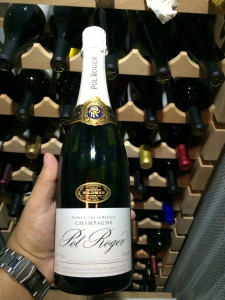 Ring in the New Year with Pol Roger Champagne