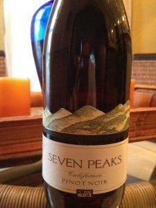Seven Peaks 2009 Pinot Noir