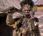 Shona witch doctor Zimbabwe