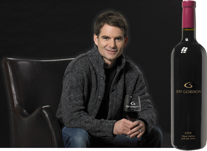 Sip some wine with Nascar great Jeff Gordon