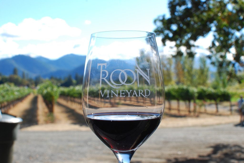 Troon Vineyard in Applegate Valley, Oregon