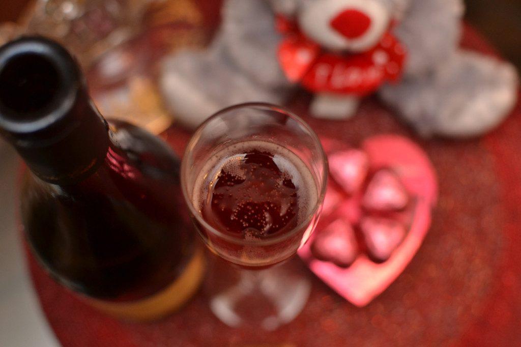 Valentine's Day Sparkling Wine