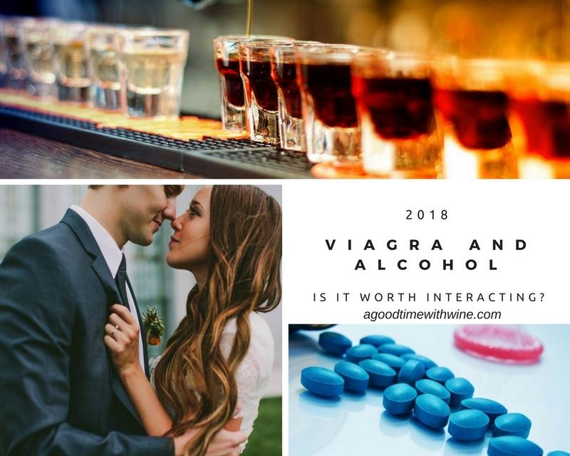 Viagra with alcohol