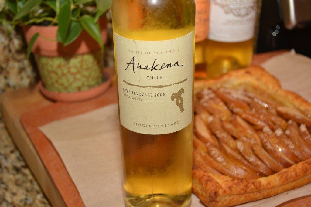Anakena Late Harvest 2008 dessert wine
