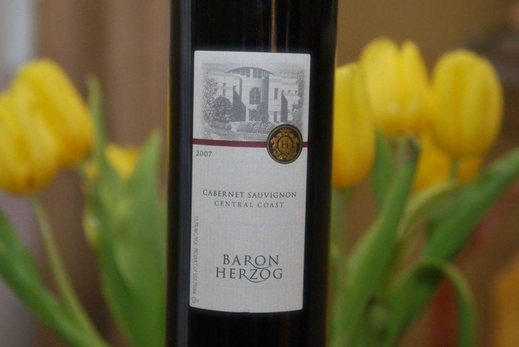 Baron Herzog cabernet sauvignon