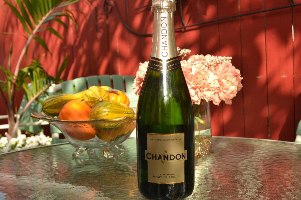 Chandon Brut Classic Sparkling Wine For Thanksgiving