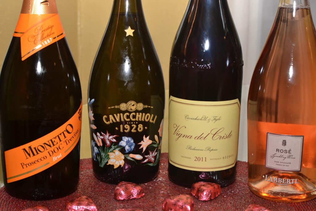 Four Italian Sparkling Wines Perfect for your Valentie's Day