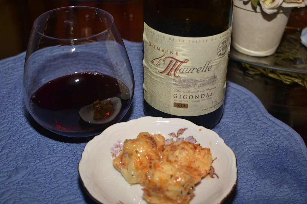 Domaine de la Maurelle 2010 Gigondas red wine