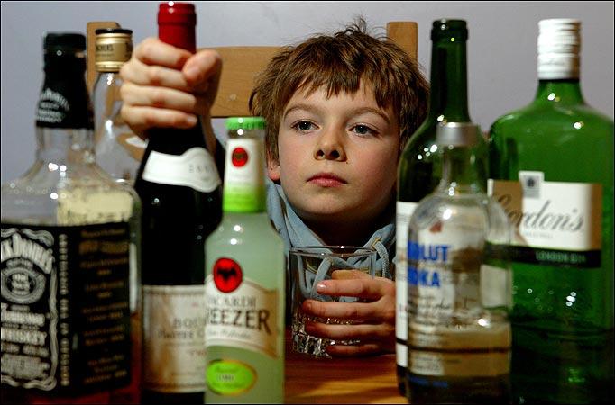 Is it bad if kids drink booze