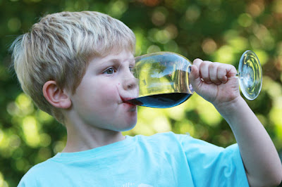 kid_wine