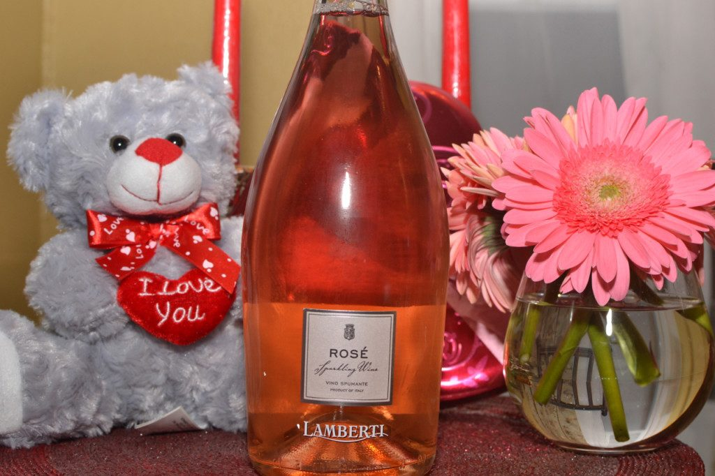 Lamberti Rose Spumante Sparkling Italian Wine for Valentine's Day