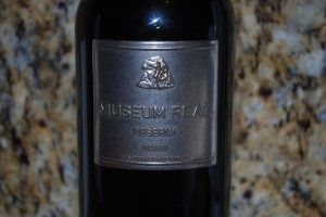 Musueum Real Reserva red wine from Spain