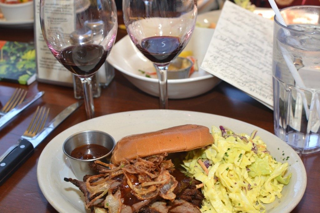 Pairing Sequoia Grove Cabernet Sauvignon with barbecue beef tri-tip