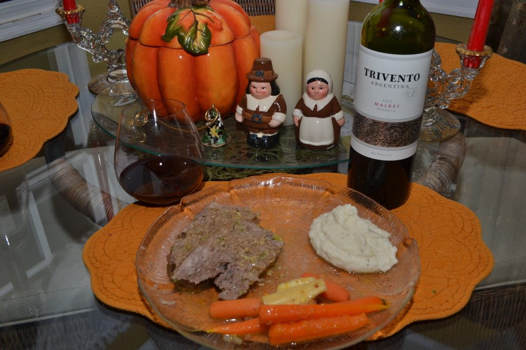 Pairing Trivento Malbec with Meatloaf