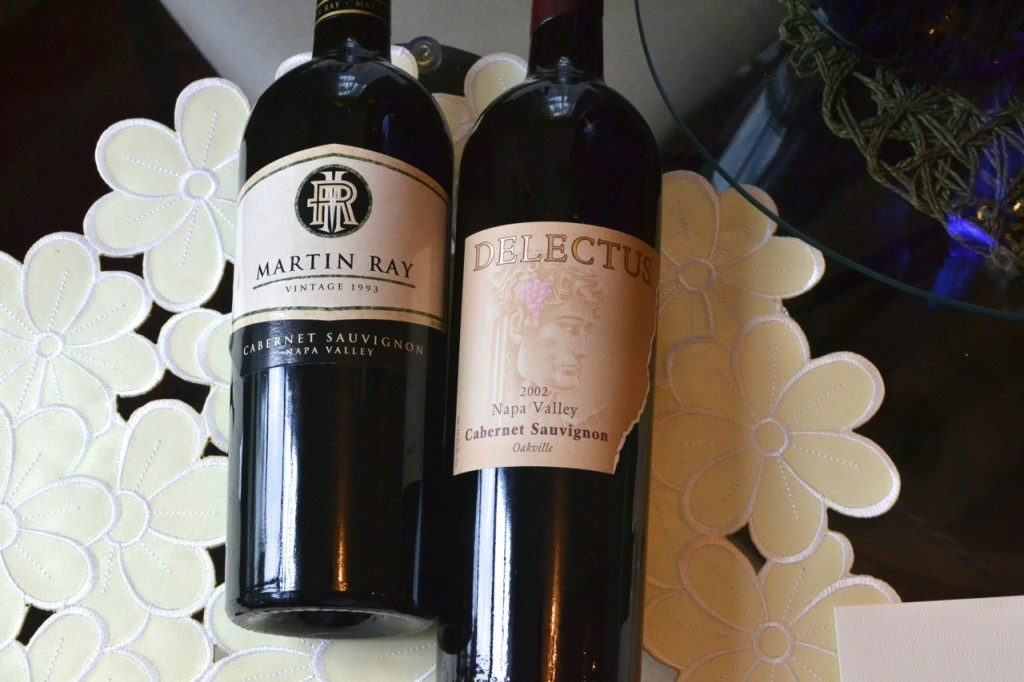 Reviewing Martin Ray 1993 and Delectus 2002 Cabernet Sauvignon