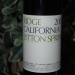 Ridge Lytton Springs 2005 Zinfandel