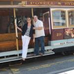 Robin & I creating memories in San Francisco