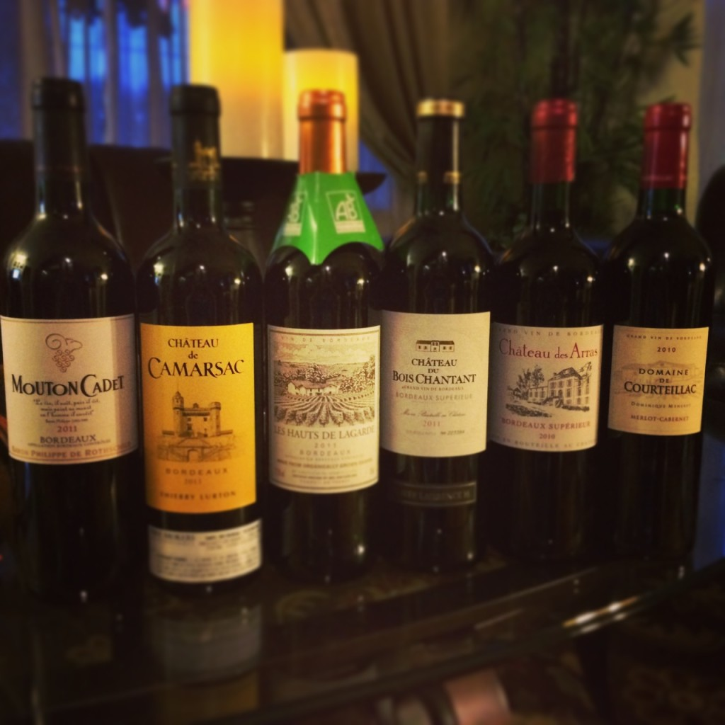 Six Bordeaux Red Wines for the Holidays