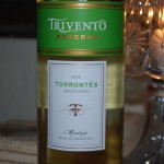 Trivento Torrontes white wine from Argentina