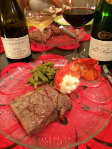 Wine Pairings for Surf and Turf