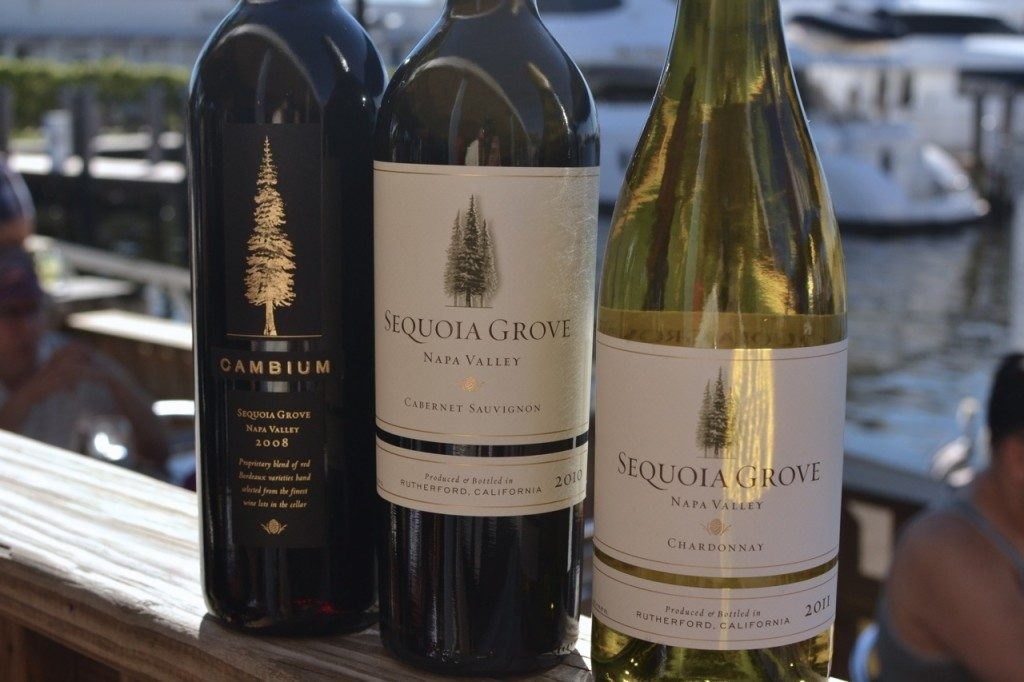 Wines From Sequoia Grove – Cambium, Cabernet Sauvignon, and Chardonnay